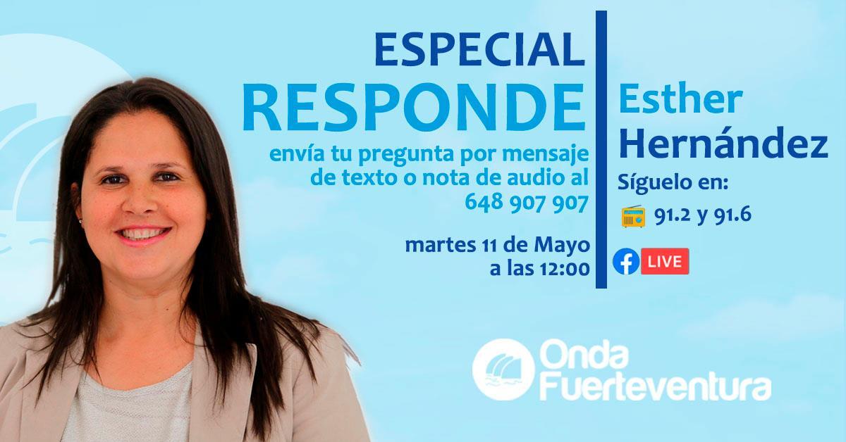 182542515_4319947951356769_9118943684727260602_n Esther Hernández responde este martes a las preguntas de los oyentes de Onda Fuerteventura