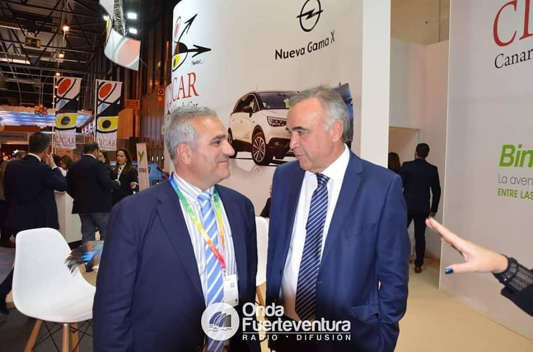 DxoYxdvWoAEW8IX Onda Fuerteventura se vuelca en la cobertura de FITUR 2021