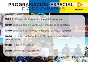 cartel-canatrias-300x212 Onda Fuerteventura y Mírame TV celebran el Día de Canarias con una programación especial