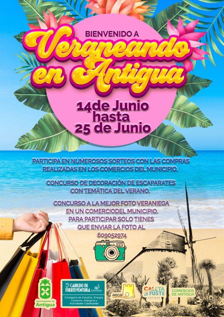 cartel-veraneando-en-antigua-724x1024 Veraneando en Antigua impulsa el comercio local del municipio
