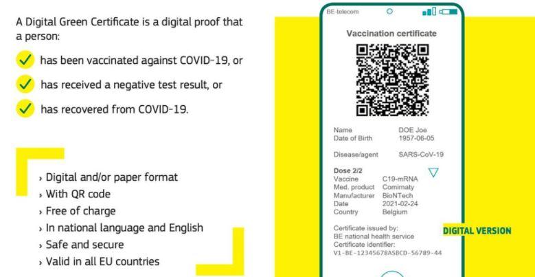 certificado-covid Casi 10.000 descargas del Certificado Covid