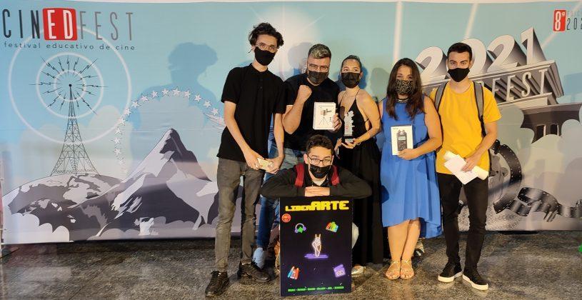 liberarte-premio-EAF-815x420 Triunfo de Escuela de Arte de Fuerteventura con dos cortos premiados en Cinedfest