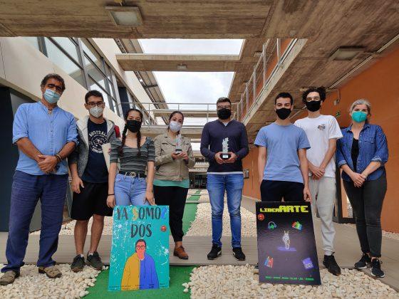 premio-eaf-foto-grupo-560x420 Triunfo de Escuela de Arte de Fuerteventura con dos cortos premiados en Cinedfest