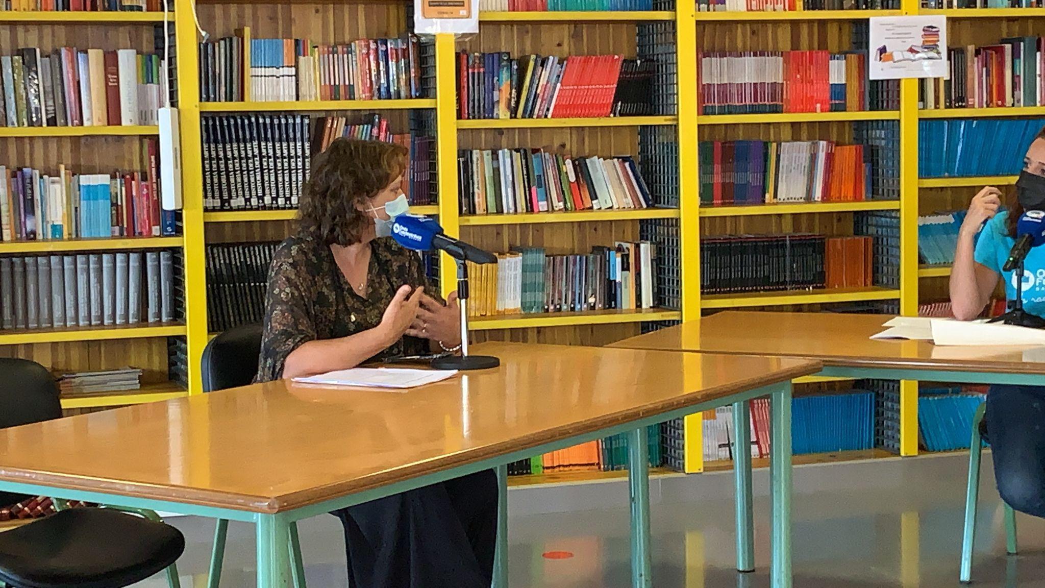 profesores 'El Magacin' en el IES Puerto del Rosario Rafael Báez