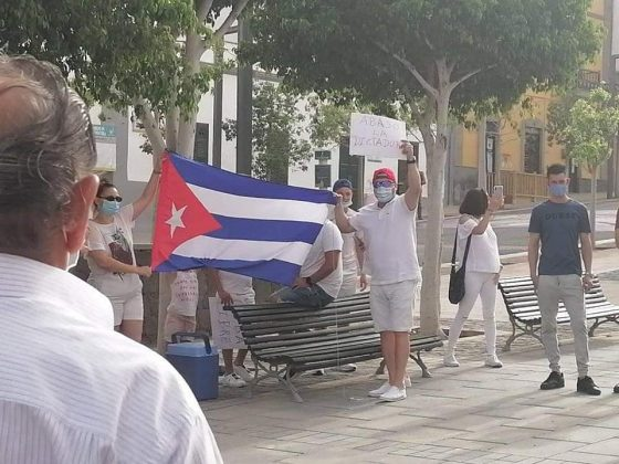216411119_4520876051263957_1533646979317268309_n-560x420 Fuerteventura se une 'Por una Cuba Libre'