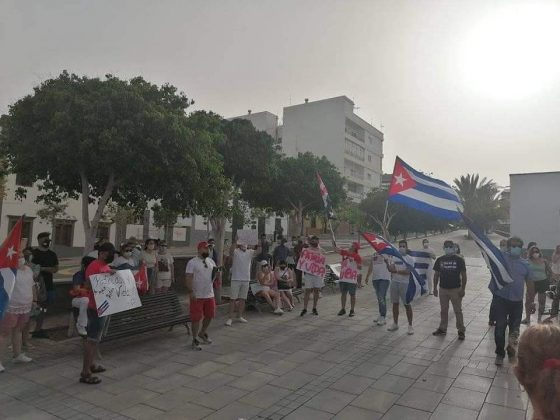 216699237_4520876334597262_2902202808341217871_n-560x420 Fuerteventura se une 'Por una Cuba Libre'