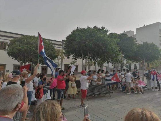 216791822_4520876141263948_739233105456623771_n-560x420 Fuerteventura se une 'Por una Cuba Libre'