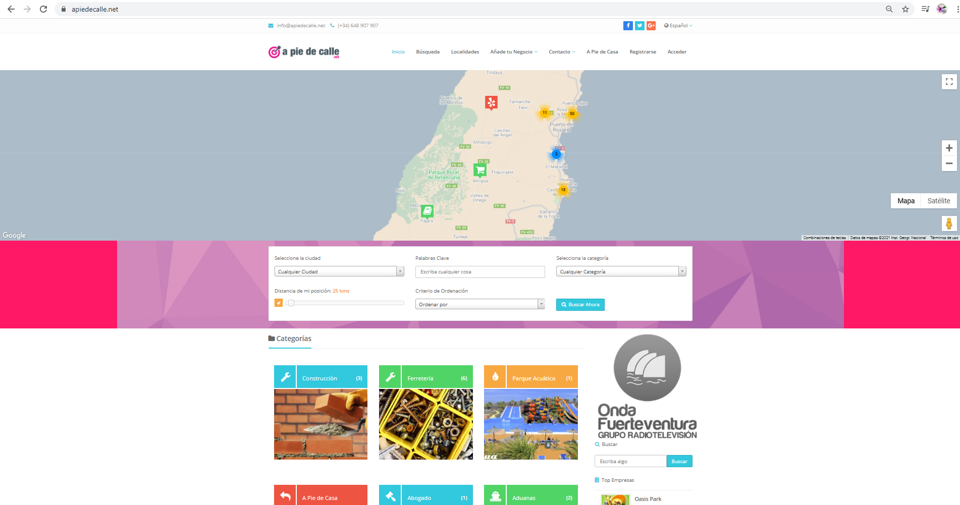 """Captura-de-pantalla-602 """"A Pie de Calle"""" de Onda Fuerteventura cumple siete años"""