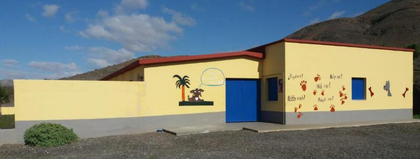 Perrera-Pajara Inauguradas las placas solares de la perrera de Pájara