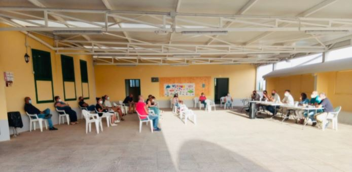Reunion-Tesjuate Mejoras en la FV-430 entre Tesjuate y Triquivijate