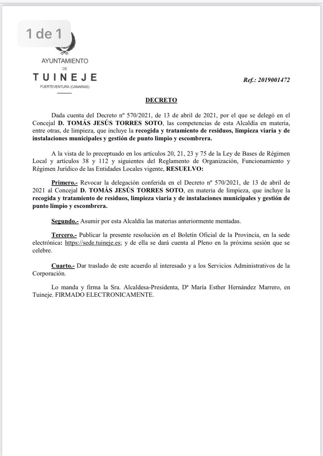 WhatsApp-Image-2021-07-02-at-18.39.53 Esther Hernández retira las competencias de Servicios y Limpieza a Tomás Torres