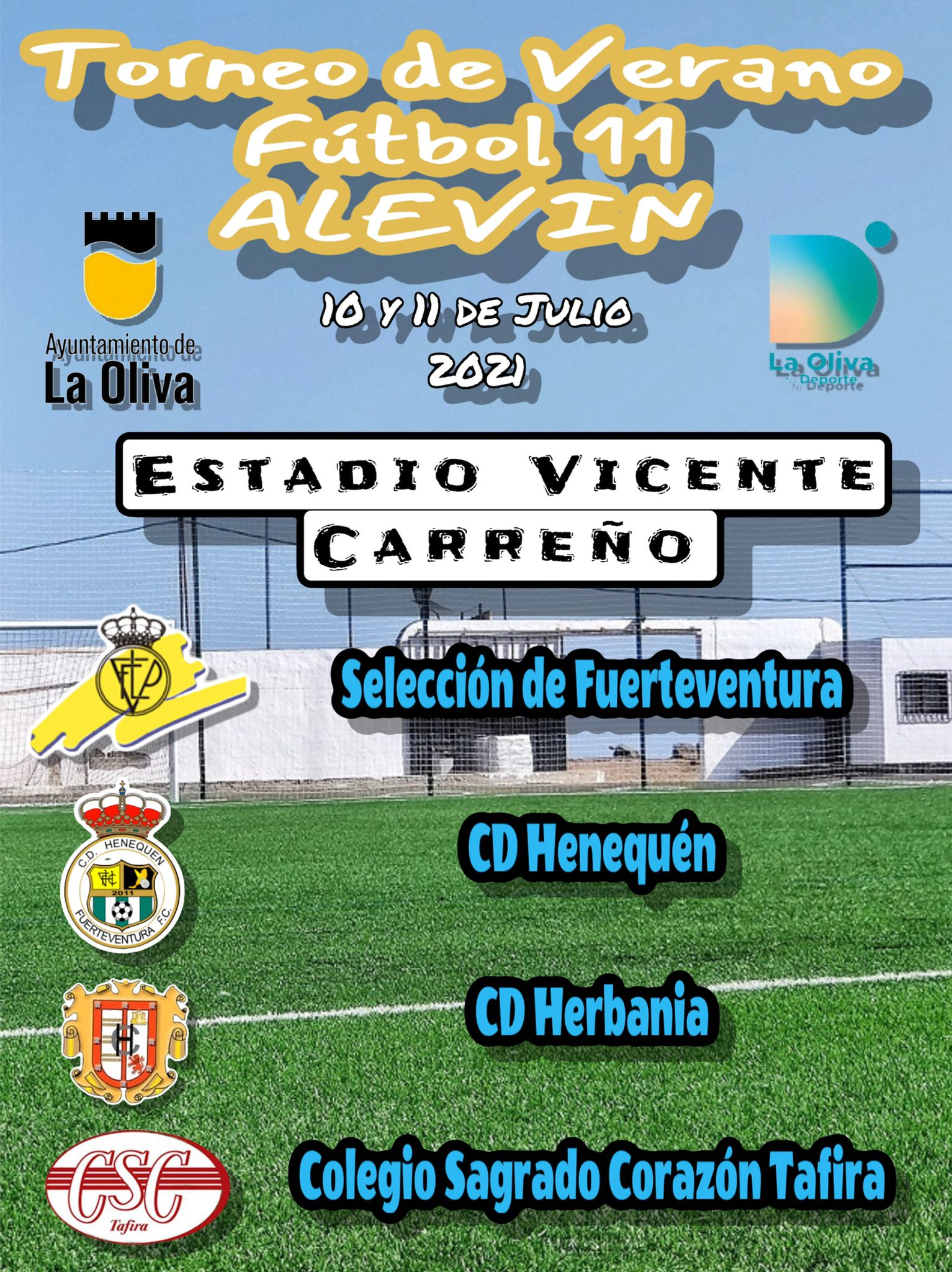 cartel-torneo-alevin La Selección Alevín se lleva el Torneo de Corralejo