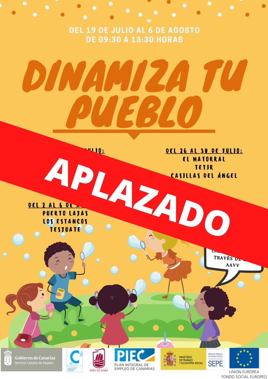 unnamed-73 Puerto del Rosario aplaza el proyecto 'Dinamiza tu pueblo'