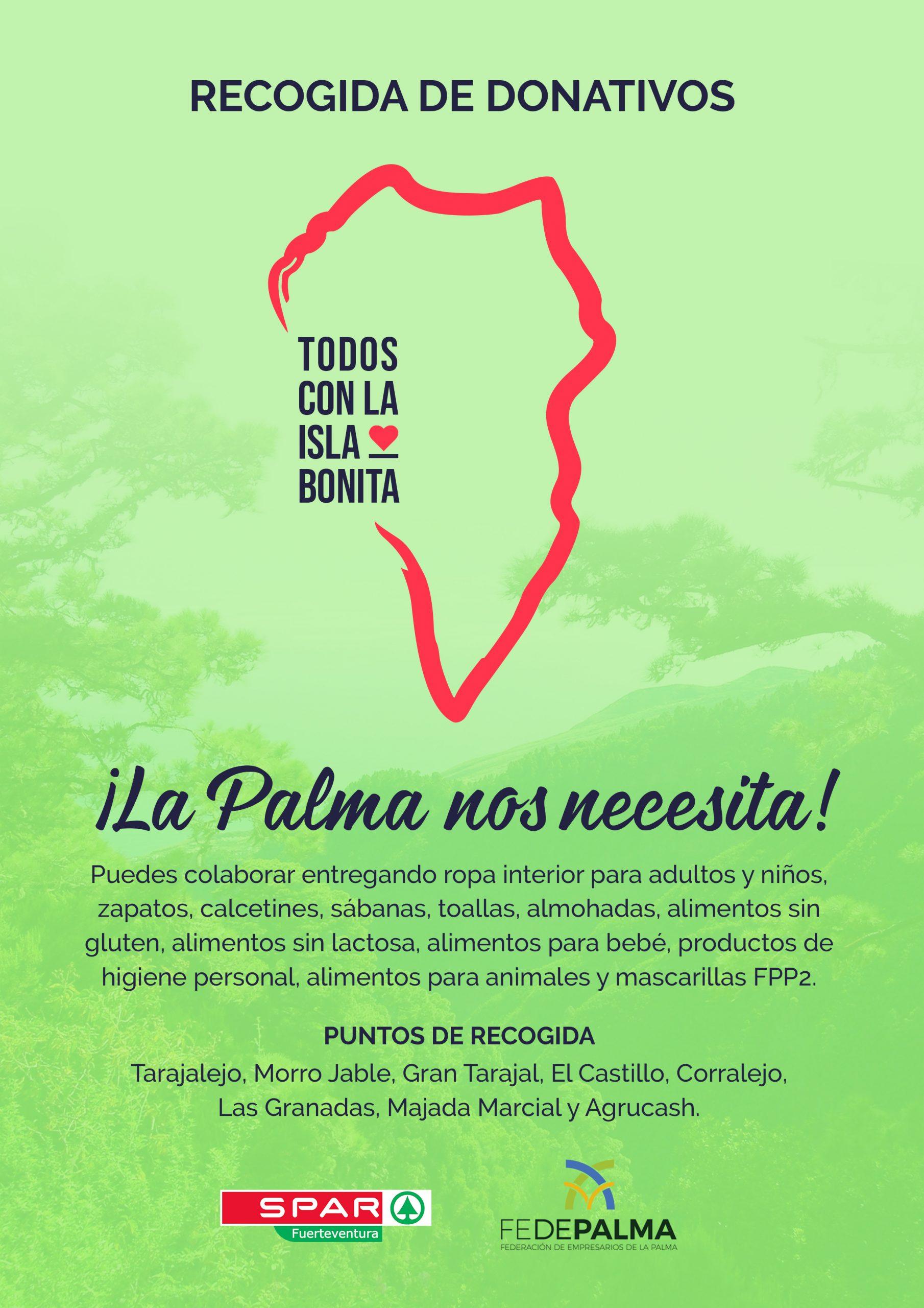 A3-scaled Padilla Supermercados Spar se suma a la solidaridad con La Palma