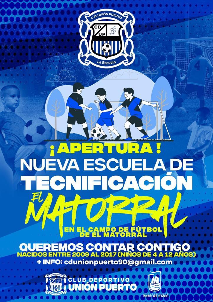 ESCUELA-DEPORTIVA-UNION-PUERTO-EL-MATORRAL Escuelas Deportivas de Fútbol 8 en El Matorral