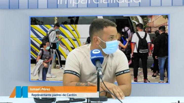 Padres-3-746x420 Las familias de El Cardón denuncian la falta de transporte escolar